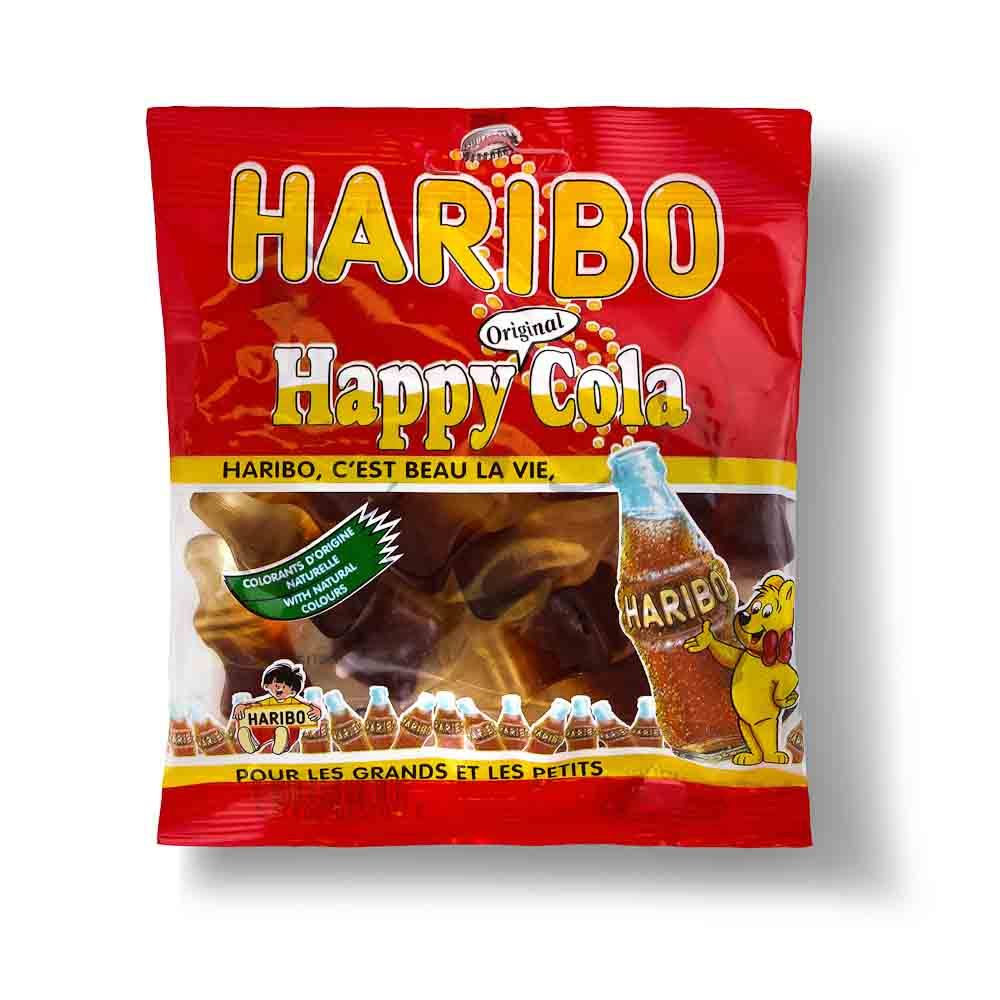Guminukai HARIBO Happy cola, 120 g