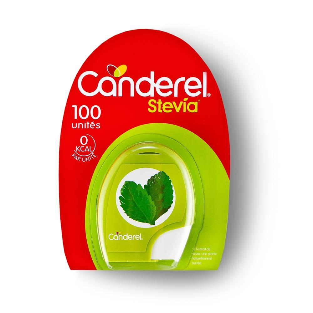 Stevijos tabletės CANDEREL, 100 vnt