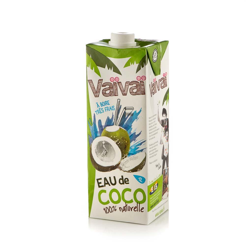 Natūralus kokosų vanduo VAI VAI, 1L