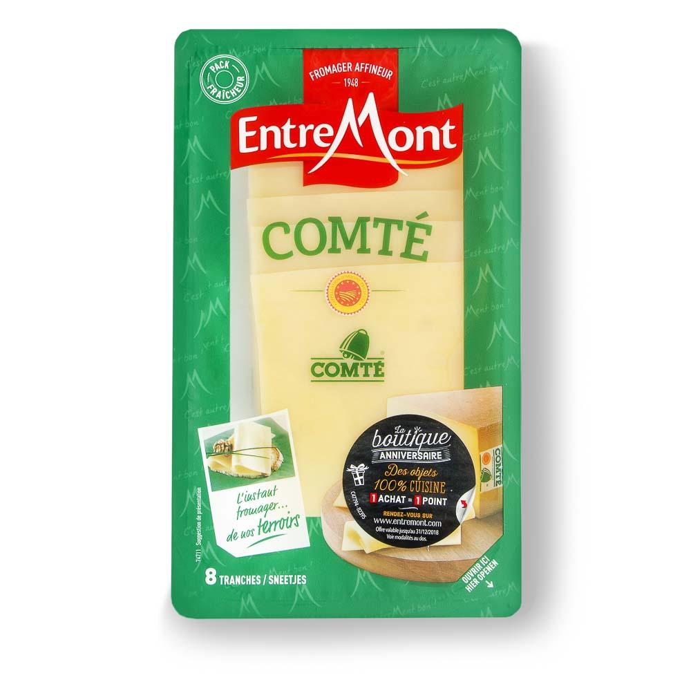 COMTE sūris riekelėmis, SKVN, 120g