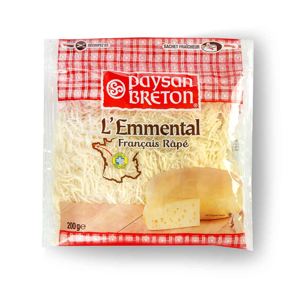 Tarkuotas sūris EMMENTAL, 200g
