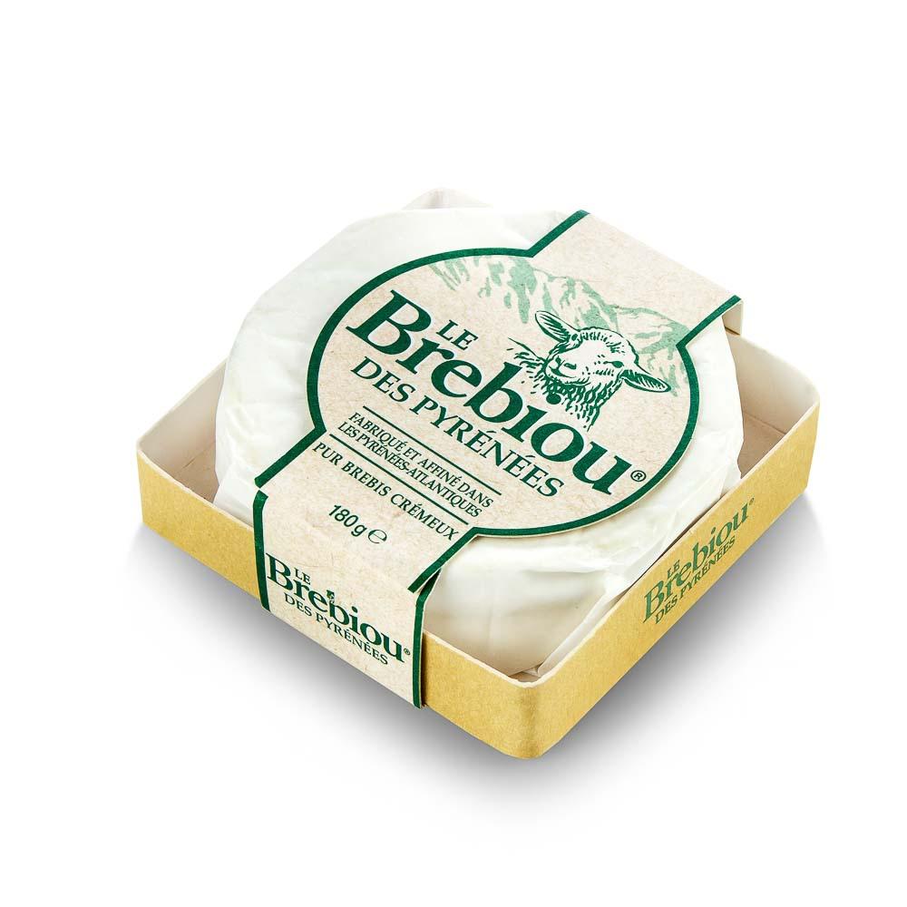 Pasterizuoto avių pieno sūris LE BREBIOU, 180g