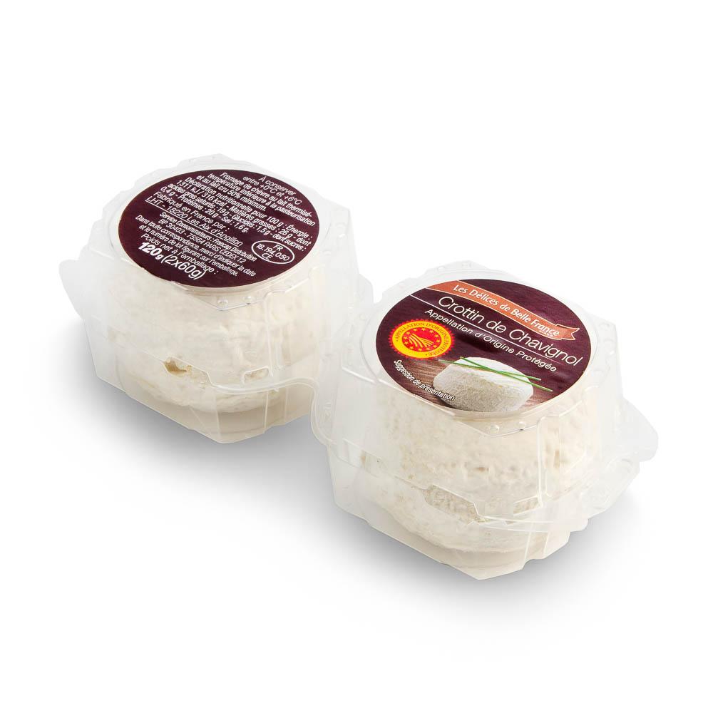 Sūris CROTTIN DE CHAVIGNOL, SKVN, 2×60 g