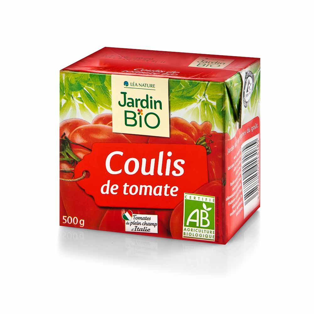 Trintų pomidorų padažas JARDIN BIO, 500 g