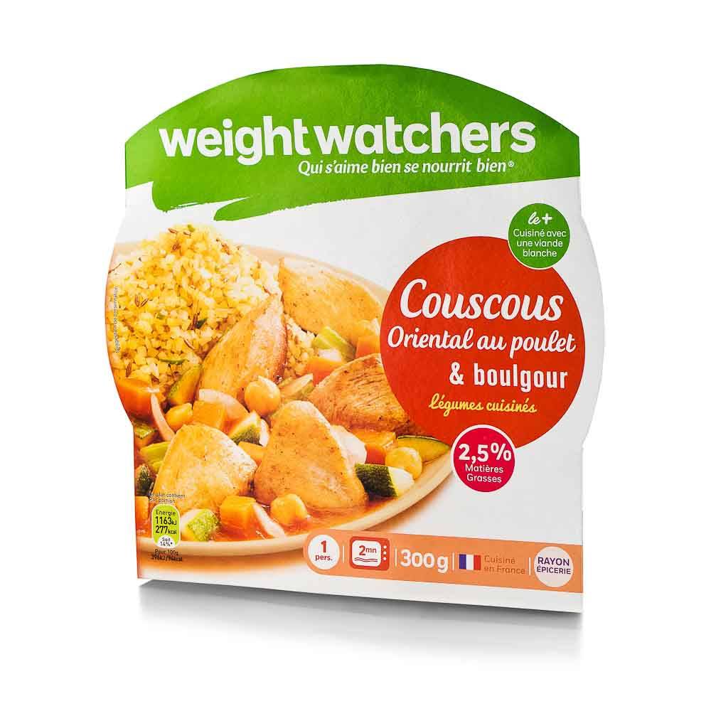 Kuskusas su vištiena ir bulguru WEIGHT WATCHER ,300g