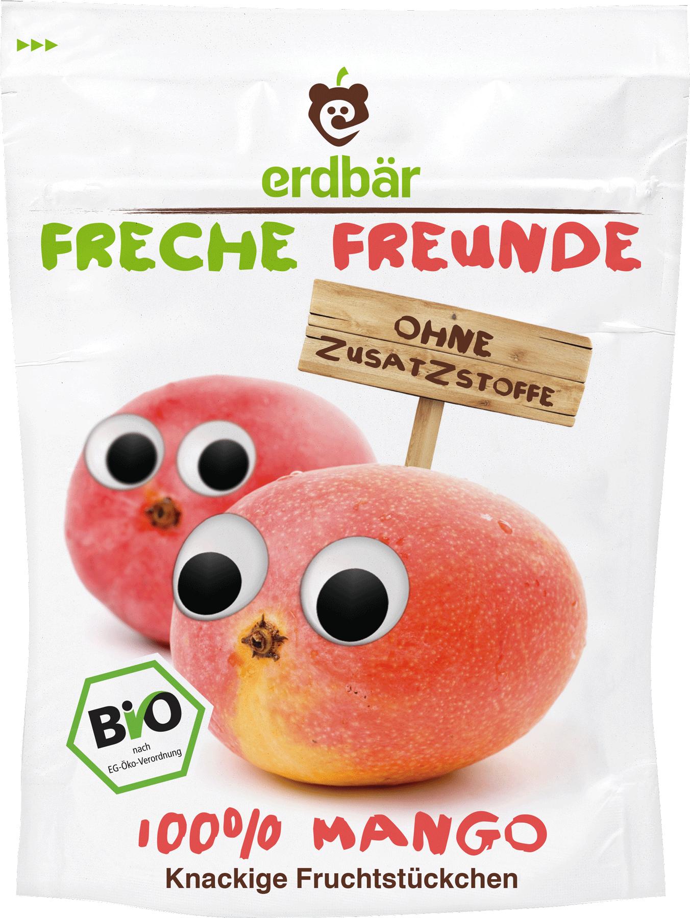 Ekologiški mangų traškučiai FRECHE FREUNDE, 14 g