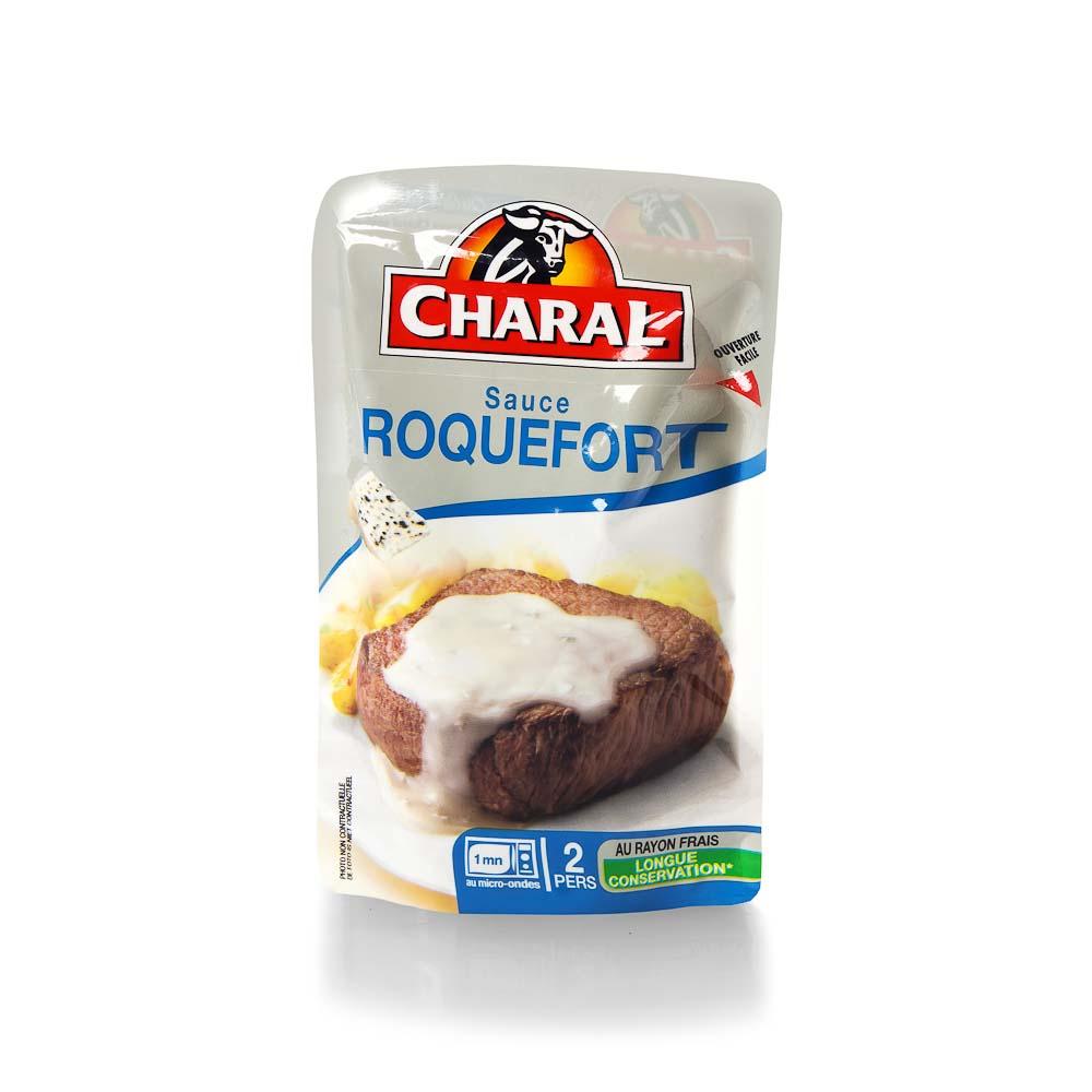 Rokforo sūrio padažas CHARAL, 120 g