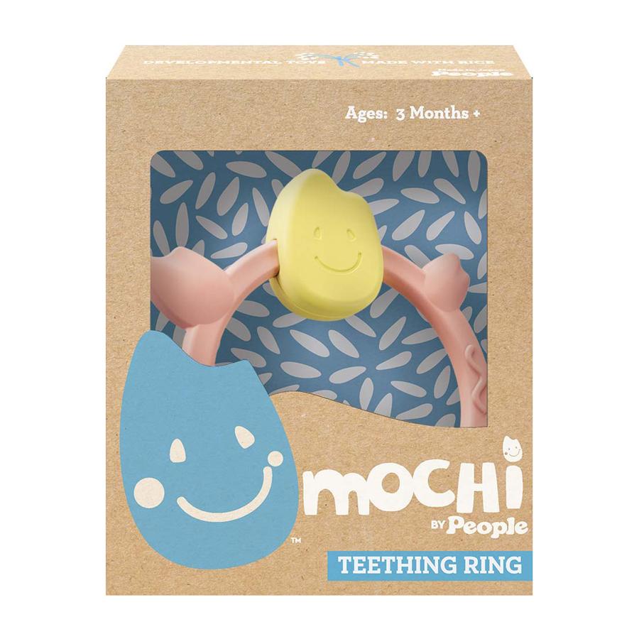 Patogus laikyti MOCHI kramtukas – žiedelis, nuo 3 mėn., 1 vnt.