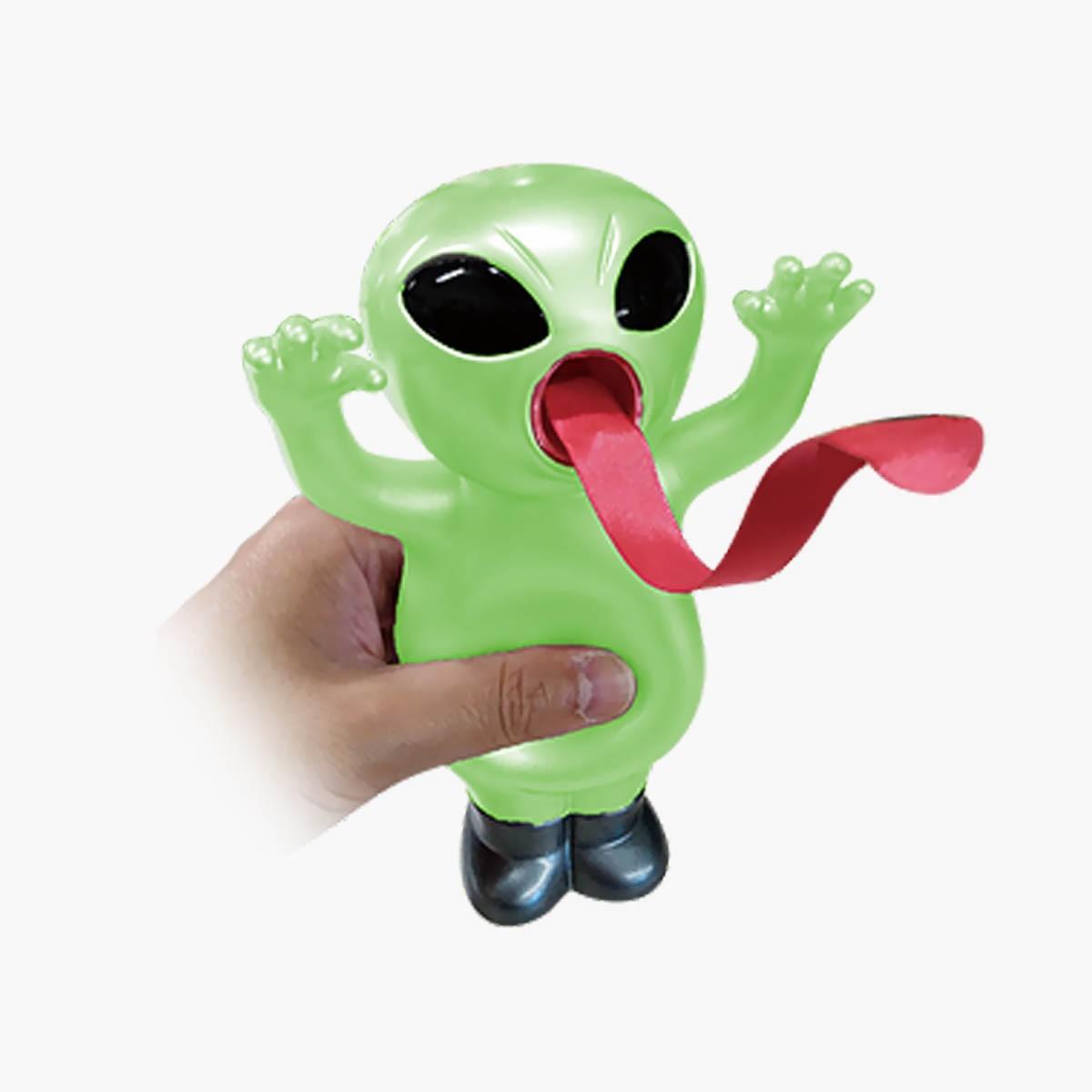 Interaktyvus žaisliukas SILLY ALIEN šviečiantis tamsoje, nuo 18 mėn., 1 vnt.