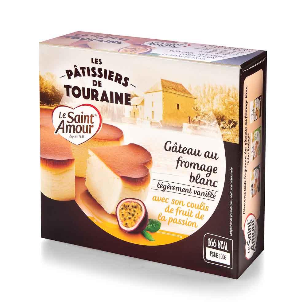 Sūrio pyragas su pasiflorų tyre, 350g