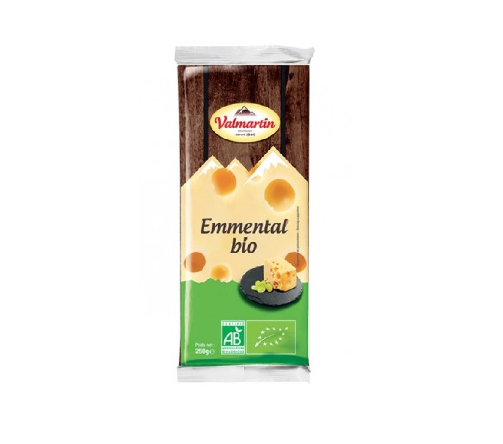 Ekologiškas Ementalio sūris 29% riebumo, 220g