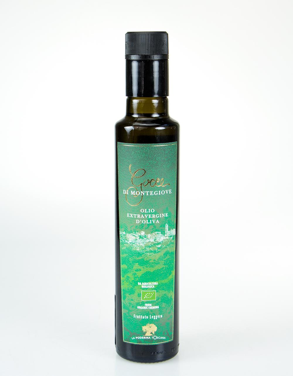 Ekologiškas ypač tyras alyvuogių aliejus GOCCE DI MONTEGIOVE, 0.75l