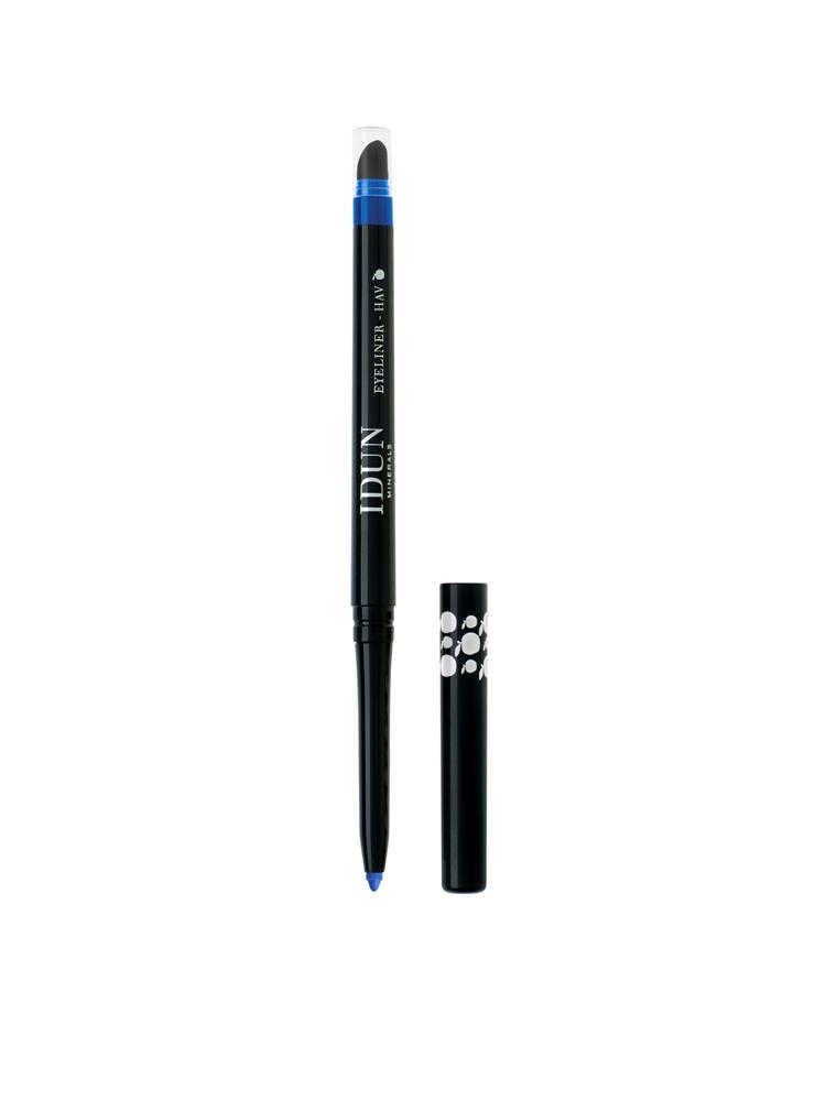 Išsukamas akių pieštukas IDUN Minerals mėlynos spalvos Hav (5105), 0,35 g