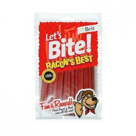 Skanėstas šunims BRIT CARE Lets Bite Bacon's Best, 105 g