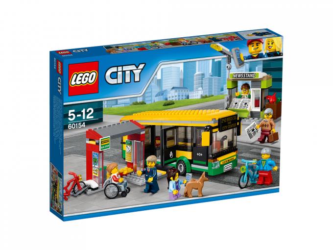 Autobusų stotis LEGO CITY 5 – 12 metų vaikams (60154)