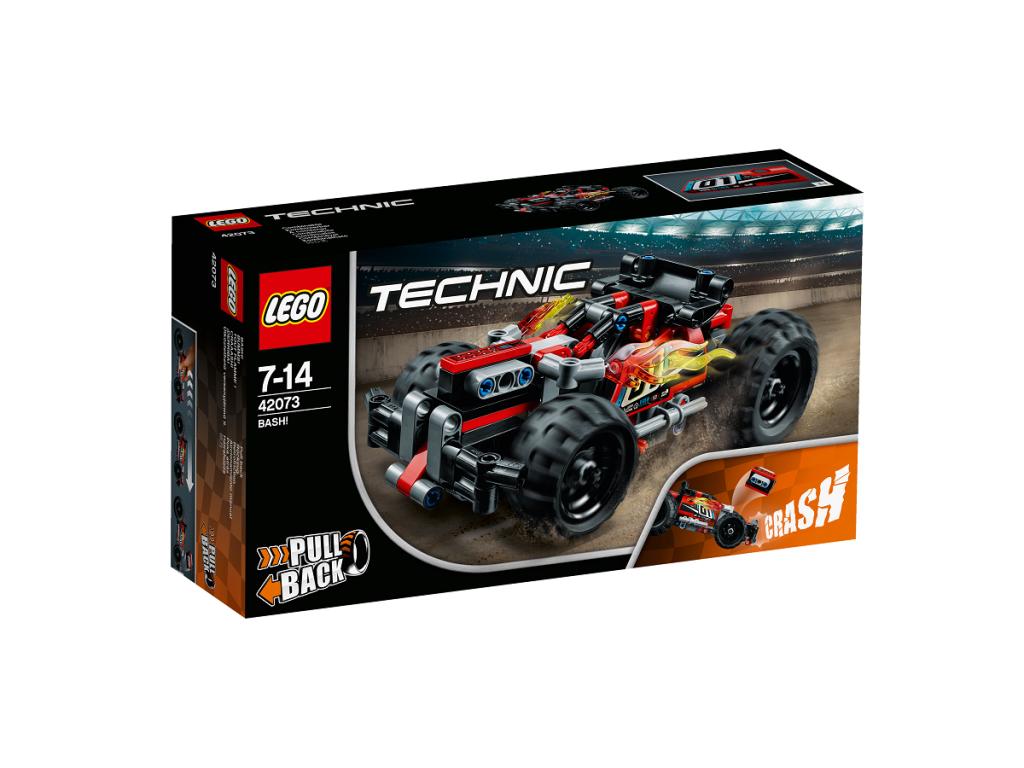 Technic bash! LEGO nuo 7 – 14 metų vaikams (42073)