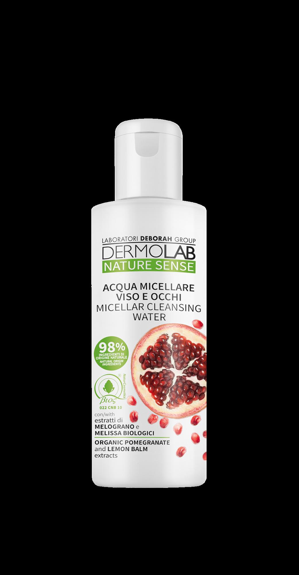Micelinis vanduo DERMOLAB NATURE SENSE, 200 ml