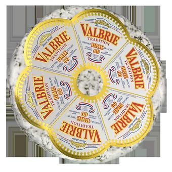 Sūris BRIE su pipirais 60% rieb., 1kg