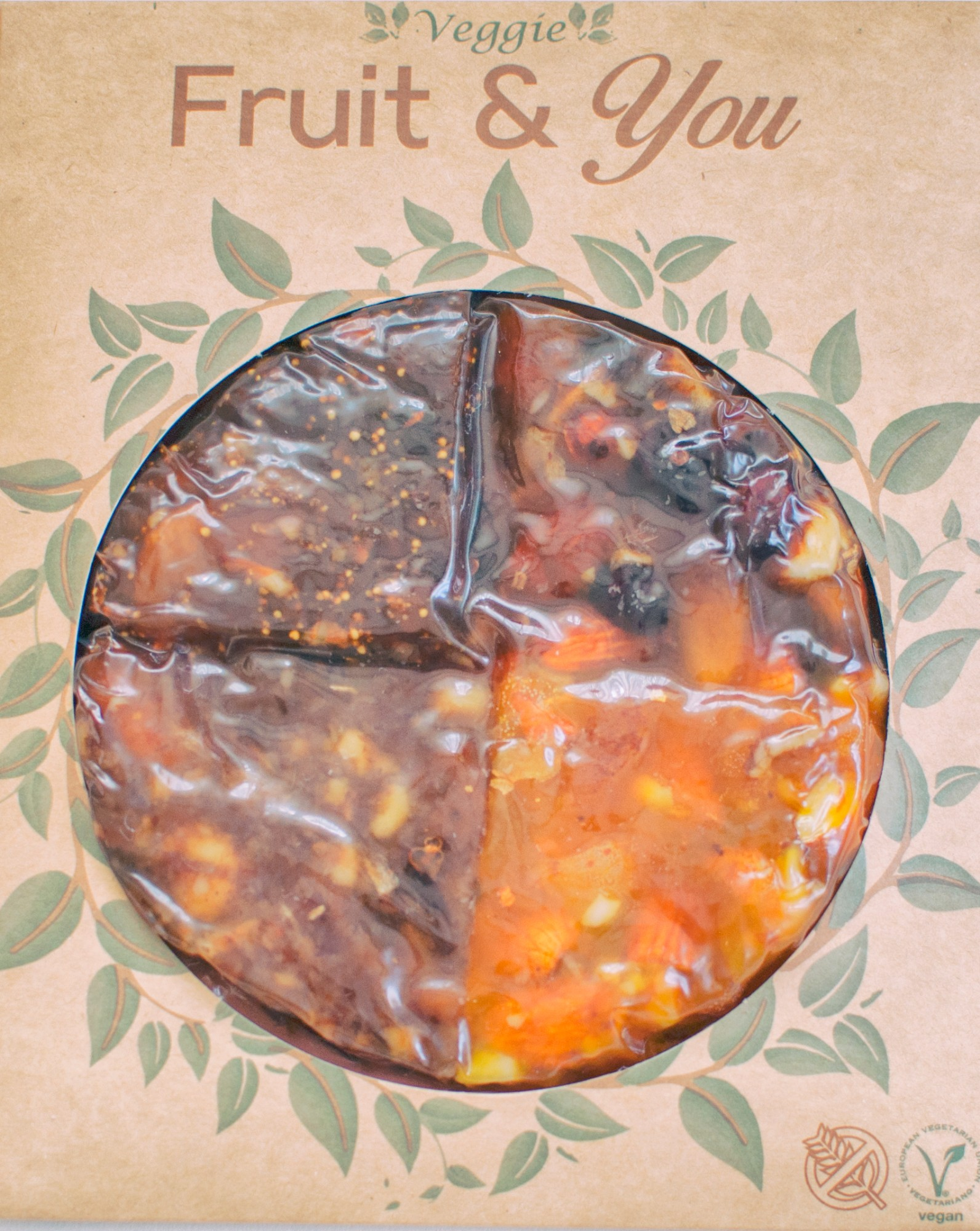 """""""Mix 4 flavour""""keturių skirtingų džiovintų vaisių sūrių miksas """"Fruit & You""""200gr"""