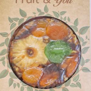 """""""Tropical"""" tropinių vaisių sūris """"Fruit & You""""200gr"""