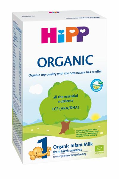 Ekologiškas pradinis pieno mišinys HIPP 1 ORGANIC (nuo gimimo), 300 g