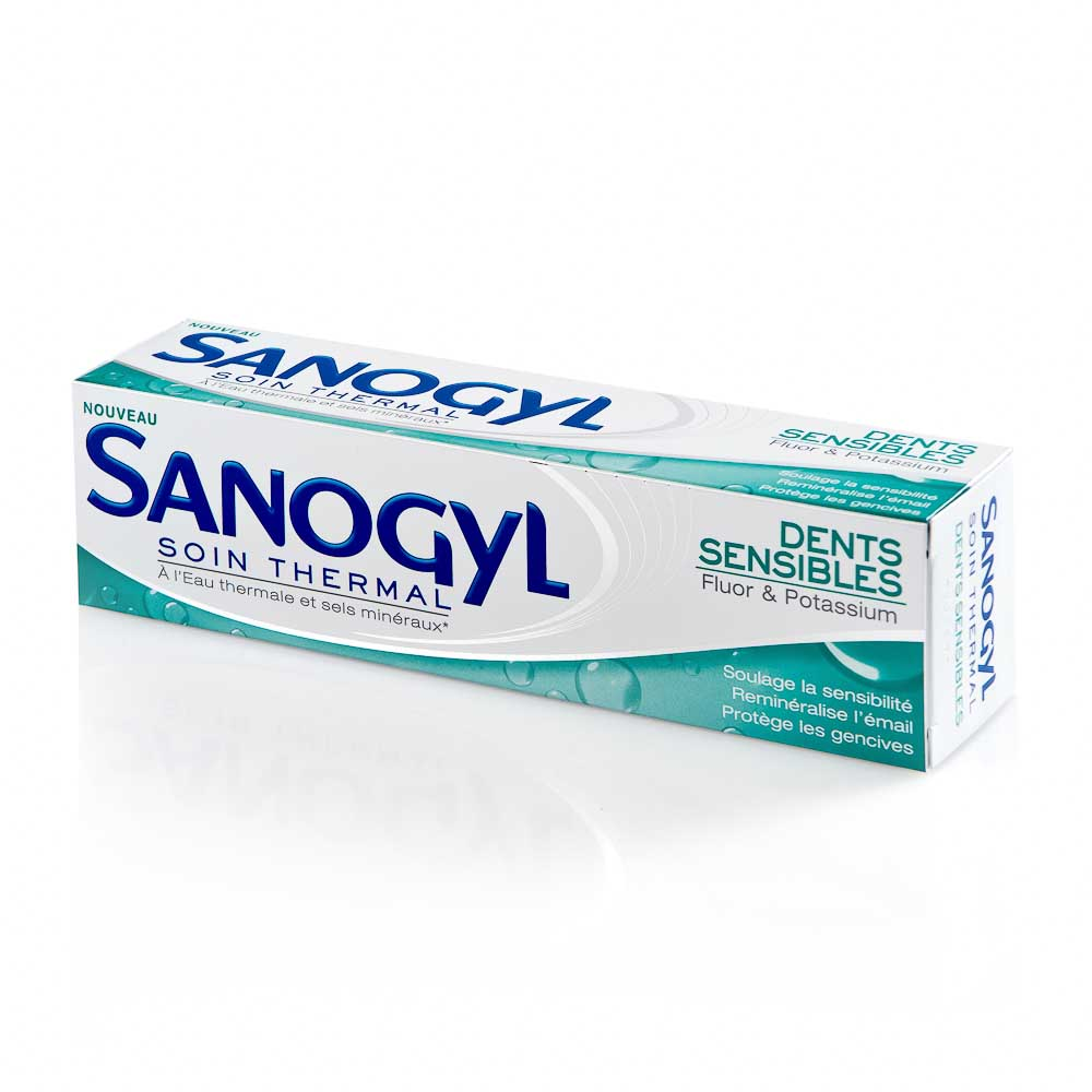 Dantų pasta jautriems dantims SANOGYL SENSIBLES, 75 ml