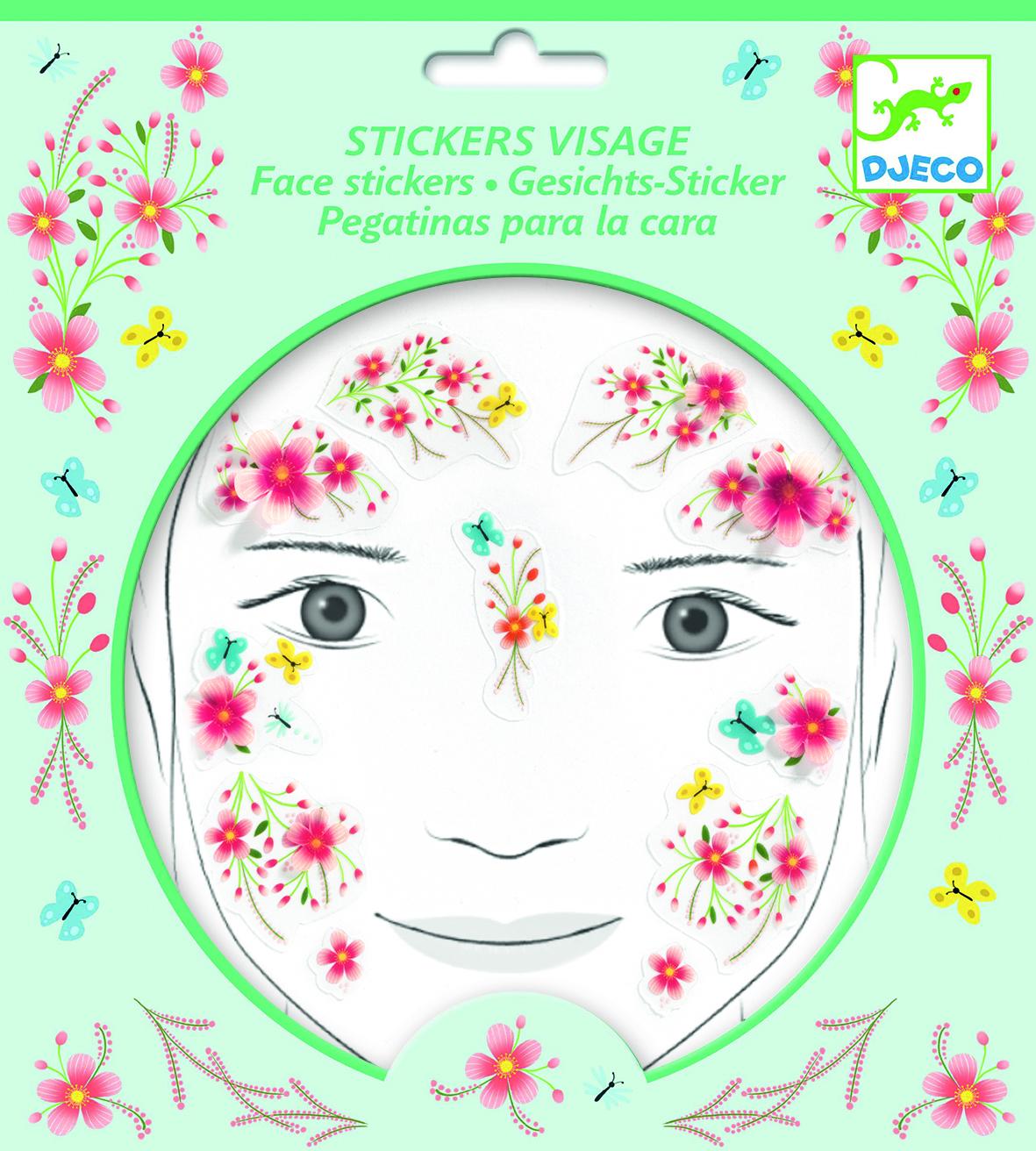 Veido lipdukai vaikams DJECO Springtime Fairy (DJ09212)