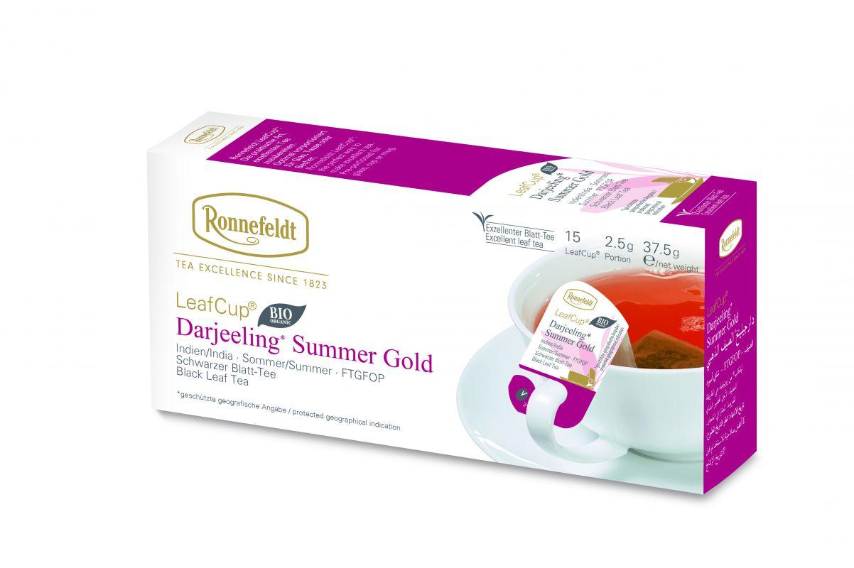 Juodoji arbata LeafCup® Darjeeling Summer Gold 15 vnt.