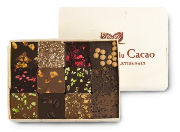 Ekologiško šokolado rinkinys COMPTOIR du CACAO, 120 g