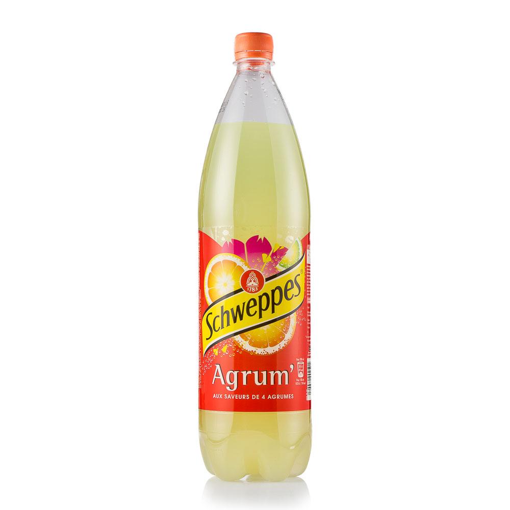 Gazuotas gėrimas SCHWEPPES AGRUM 1,5L