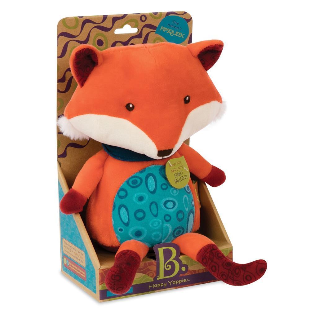 Kalbantis žaisliukas lapė B-TOYS Talk Back Fox (BX1513ZBT), 1 vnt.