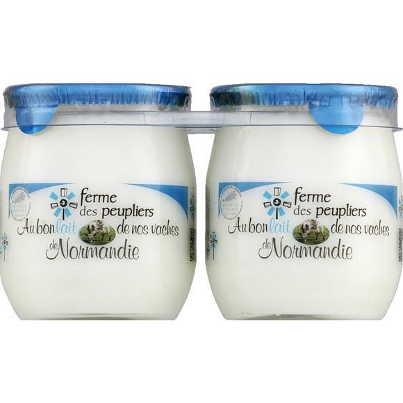 Natūralus jogurtas FERME DES PEUPLIERS, 2x125g