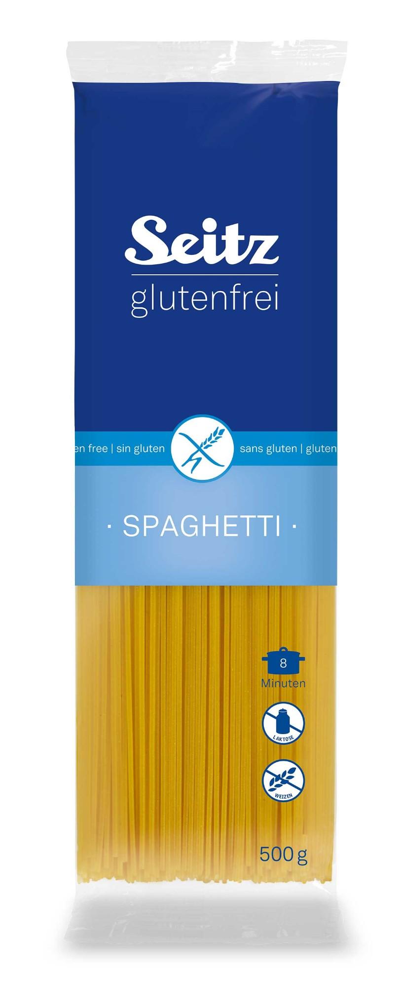 Makaronai SEITZ Spaghetti, be gliuteno, 500 g