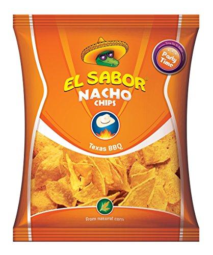 Kukurūzų traškučiai Načios Barbeque skonio El Sabor 225g