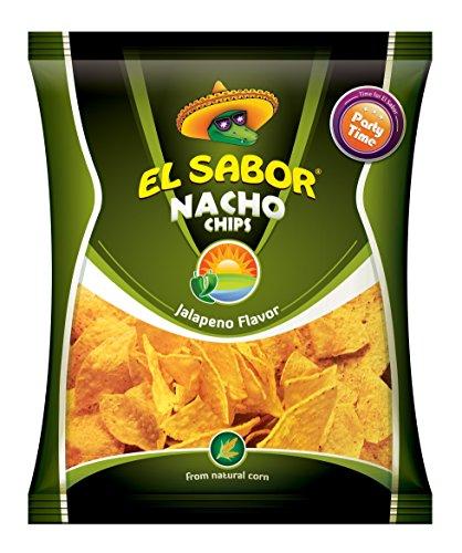Kukurūzų traškučiai Načios Jelapeno paprikų skonio El Sabor 225g
