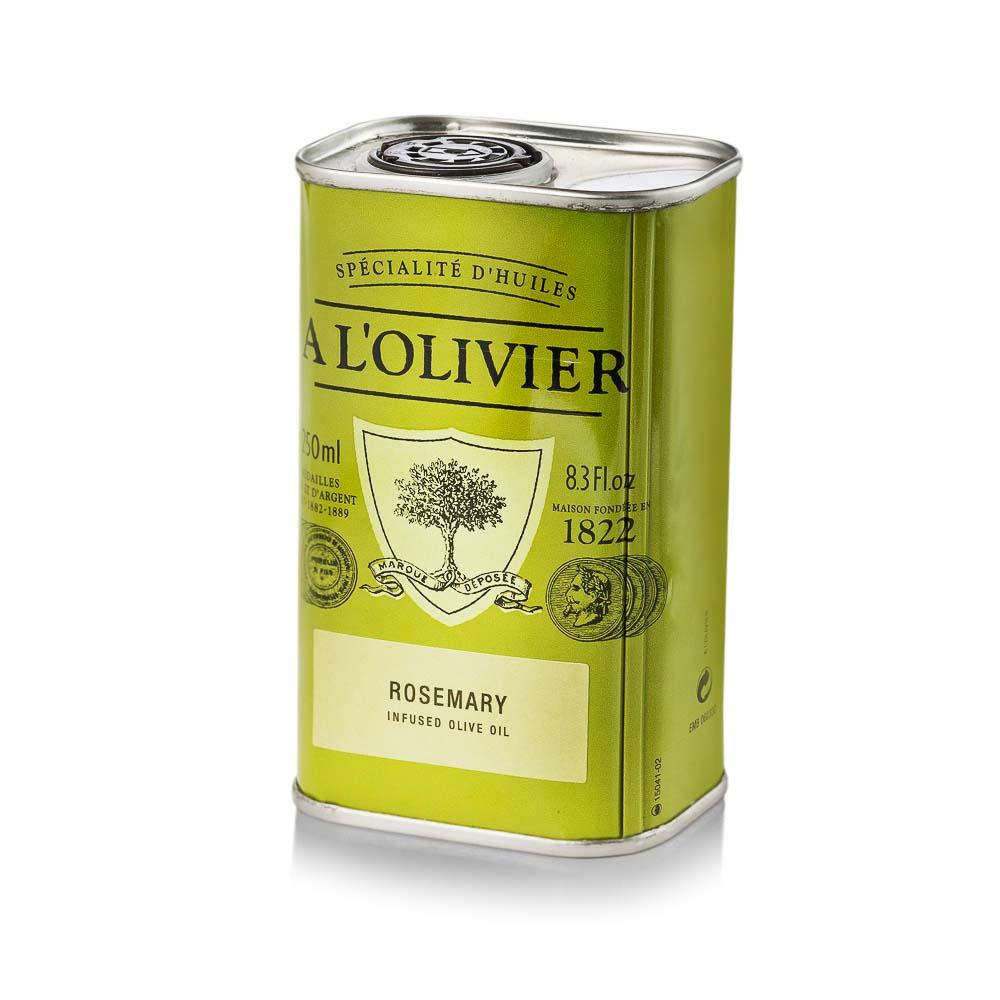 Alyvuogių aliejus A L'OLIVIER su rozmarinų ekstraktu, skardoje, 250 ml