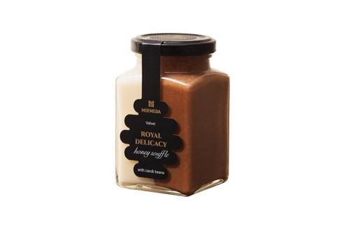 Medaus plakainis MIRMEDA Velvet su saldžiosios ceratonijos vaisiais, 340 g