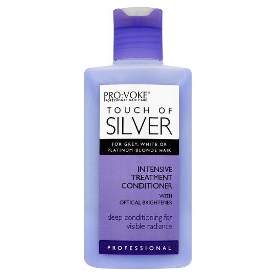 Gelsvus atspalvius naikinantis balzamas PROVOKE Touch of Silver kasdieniam naudojimui, 200ml