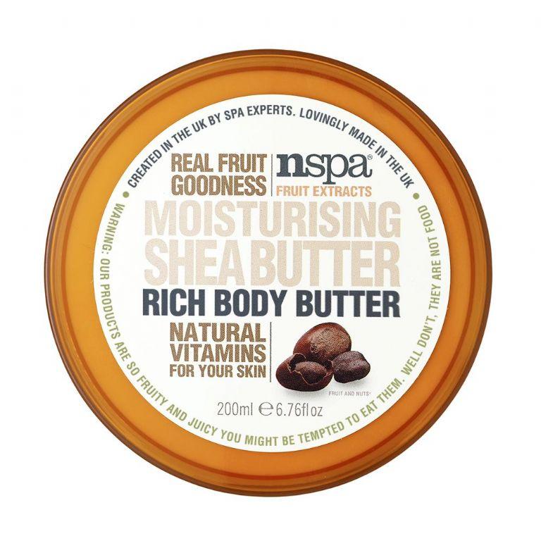 Kūno sviestas NSPA sviestmedžio sviesto aromato, 200 ml