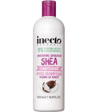 Kondicionierius INECTO SHEA su sviestmedžio sviesto ekstraktais, 500 ml