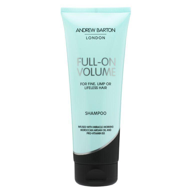 Plaukų apimtį didinantis šampūnas ANDREW BARTON su arganų aliejumi ir Pro Vitaminu B5, 250 ml