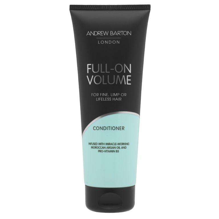 Plaukų apimtį didinantis balzamas ANDREW BARTON su arganų aliejumi ir Pro Vitaminu B5, 250 ml