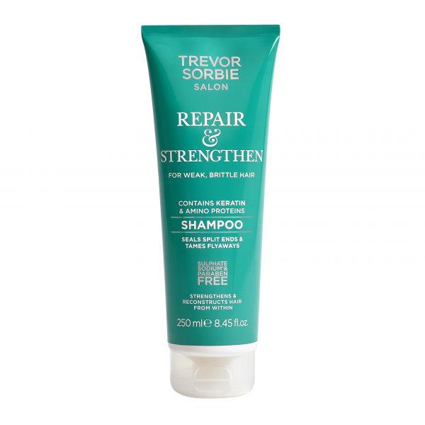 Plaukus atstatantis ir stiprinantis šampūnas TREVOR SORBIER SALON, 250ml