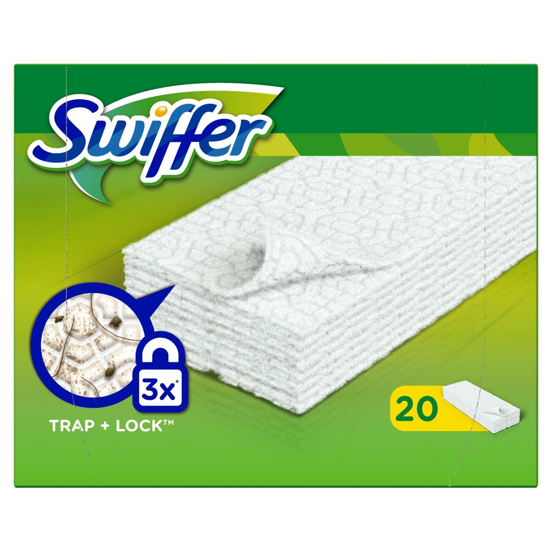 Sausos grindų šluostės SWIFFER, 20vnt.