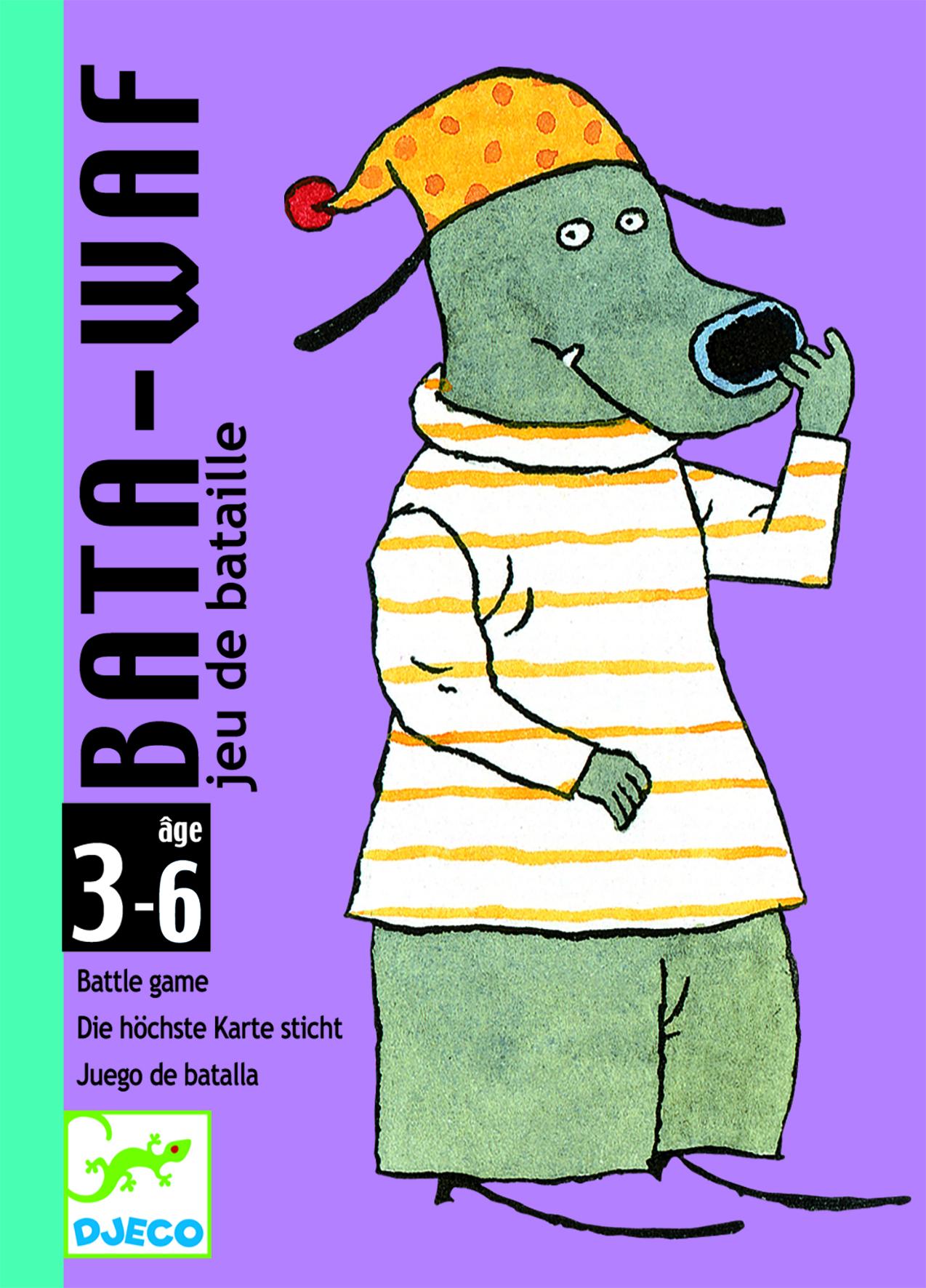 Kortų žaidimas DJECO Bata-waf (DJ05104), 1 vnt.