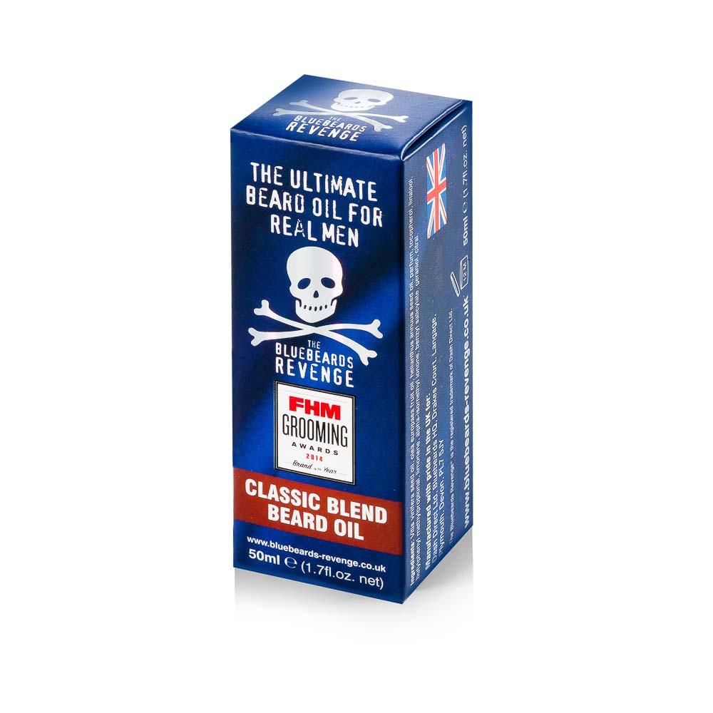 Klasikinis barzdos aliejus THE BLUEBEARDS REVENGE, 50 ml.