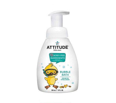Vonios putos vaikams su kriaušių aromatu ATTITUDE, 300 ml