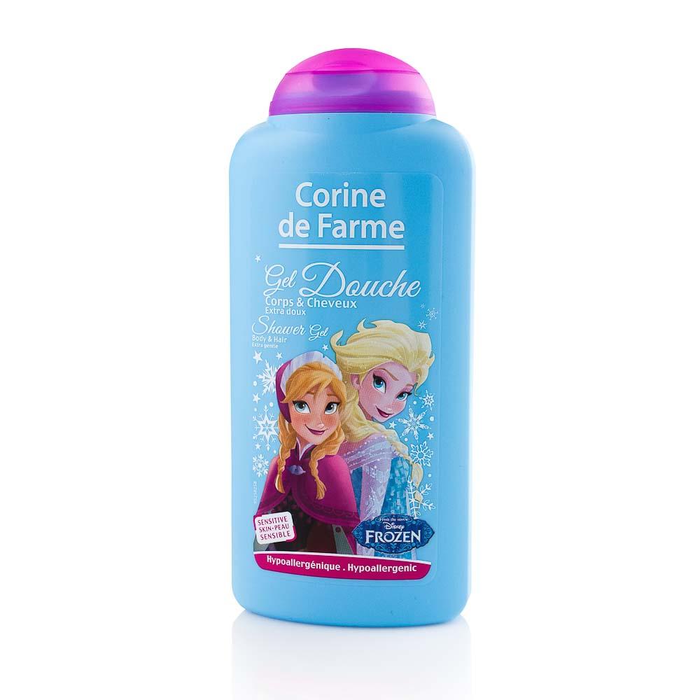Gelis kūnui ir plaukams CORINE DE FARME Frozen, 250 ml