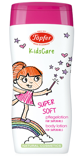 "Kūno pienelis TÖPFER mergaitėms ""Supersoft"", 200 ml"