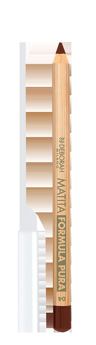 Lūpų pieštukas DEBORAH FORMULA PURA 04 BROWN, 1 vnt.